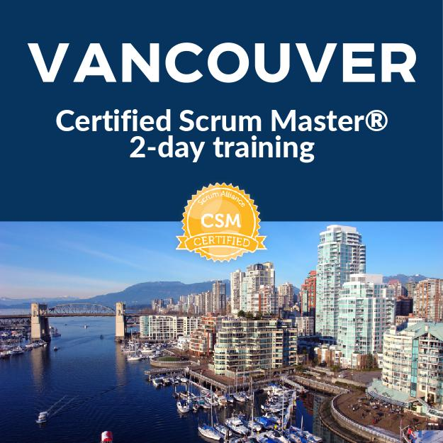 Certified Scrum Master Course Vancouver Sept 24 25 Innovel