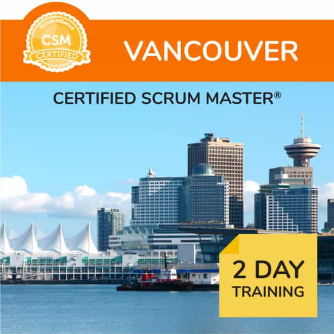 Vancouver Certified Scrum Master