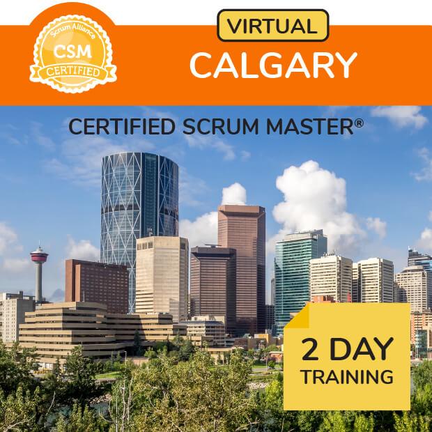 Virtual Scrum Training Mountain Time Zone - Calgary, Edmonton, Regina, Saskatoon, Vancouver