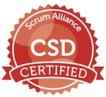 Certified Scrum Developer Badge