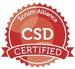 Certified Scrum Developer Badge