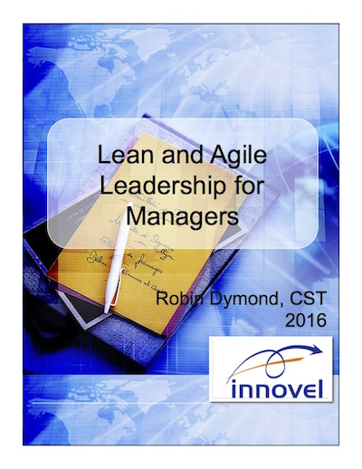 Lean and Agile Leadership for Managers manual