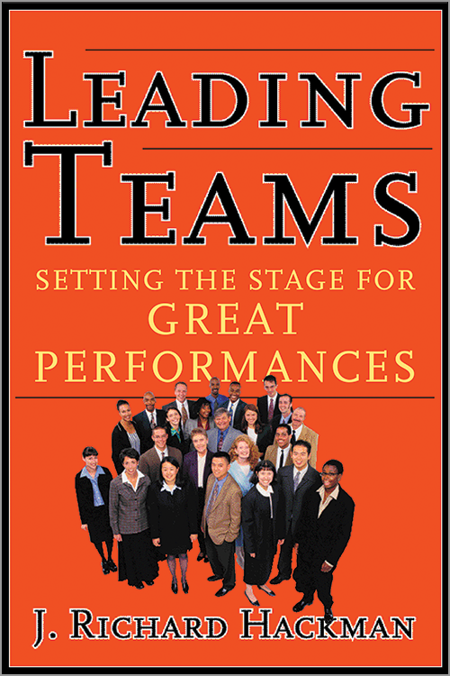 Leading Teams Book Cover