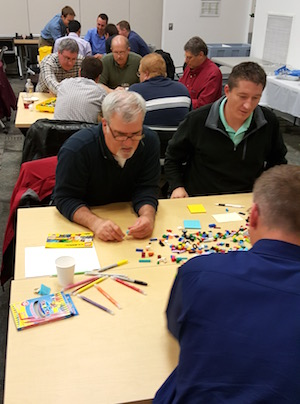 lego for scrum teams working